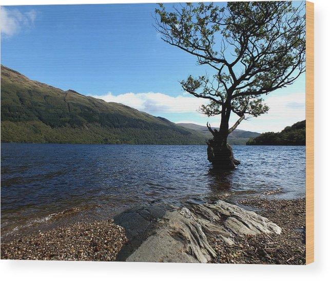 Loch Lomond Wood Print featuring the photograph Loch Lomond by John Topman