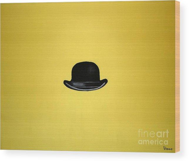 Mr. Brightside Wood Print featuring the painting Mr. Brightside by Venus