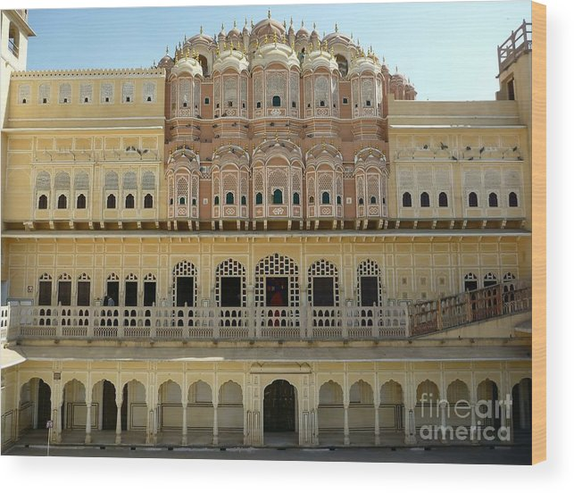 Jaipur Wood Print featuring the photograph Jaipur Beauty by Sophie Vigneault