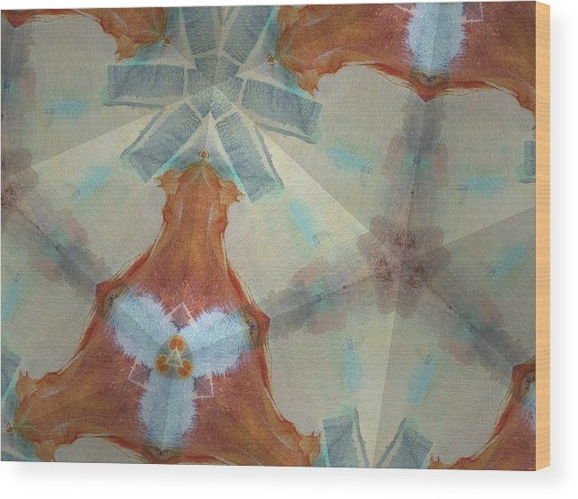 Arizona Wood Print featuring the digital art Wisp Of Tucson 1 by Rick Hurst