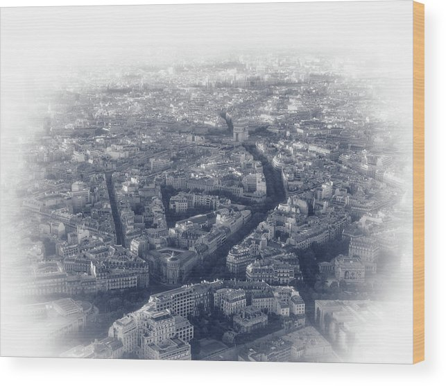 France Wood Print featuring the photograph Paris Pic.12 by Oleg Volkov