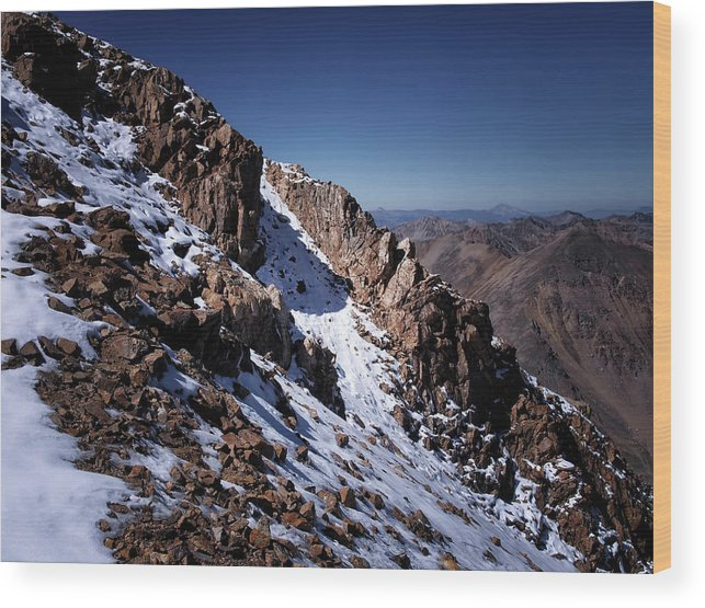 Colorado Wood Print featuring the photograph Climb That Mountain by Jim Hill