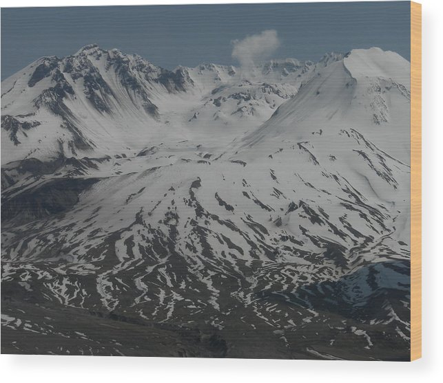 Landscape Wood Print featuring the photograph Mt. Saint Helens by Garry Kaylor