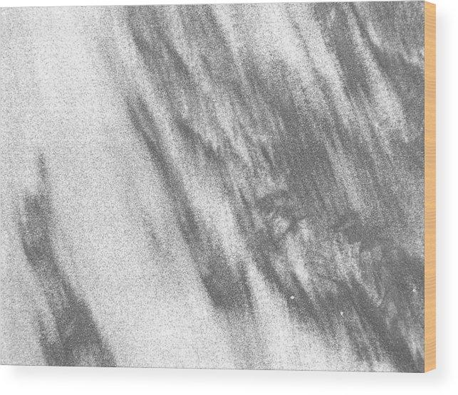 Beach Wood Print featuring the photograph Sand1 by Evguenia Men