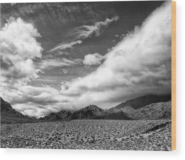 Weather Front Wood Print featuring the photograph Weather Front by Dominic Piperata
