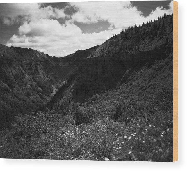 Nature Wood Print featuring the photograph Silver Star Mountain by Benjamin Garvey