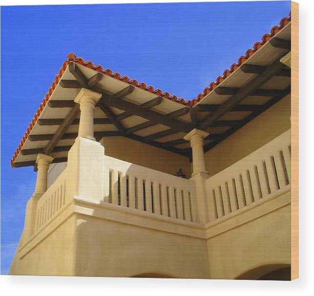 Morocco Wood Print featuring the photograph Moroccan Influence II by Lessandra Grimley