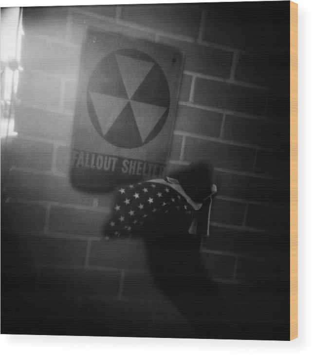 Fallout Wood Print featuring the photograph Cold War by Steve Parrott