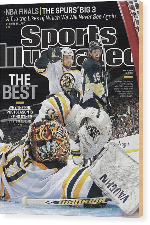 Magazine Cover Wood Print featuring the photograph The Best Why The Nhl Postseason Is Like No Other Sports Illustrated Cover by Sports Illustrated