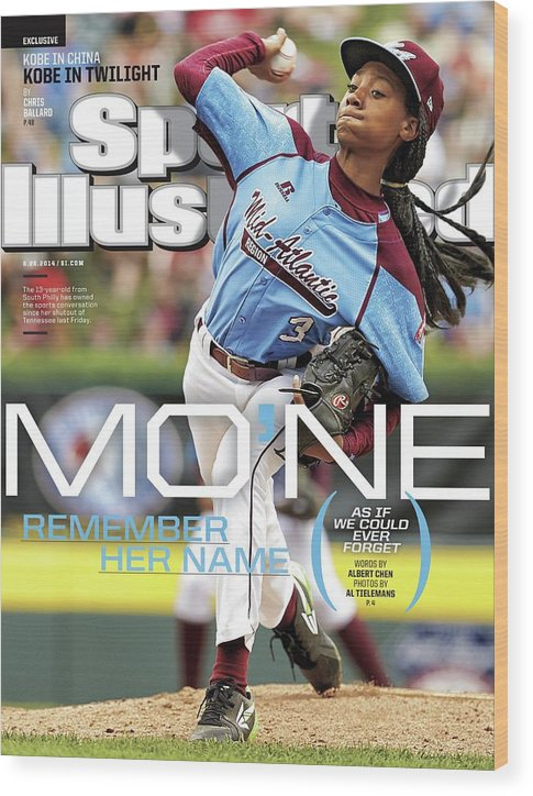 Magazine Cover Wood Print featuring the photograph Mone Remember Her Name as If We Could Ever Forget Sports Illustrated Cover by Sports Illustrated