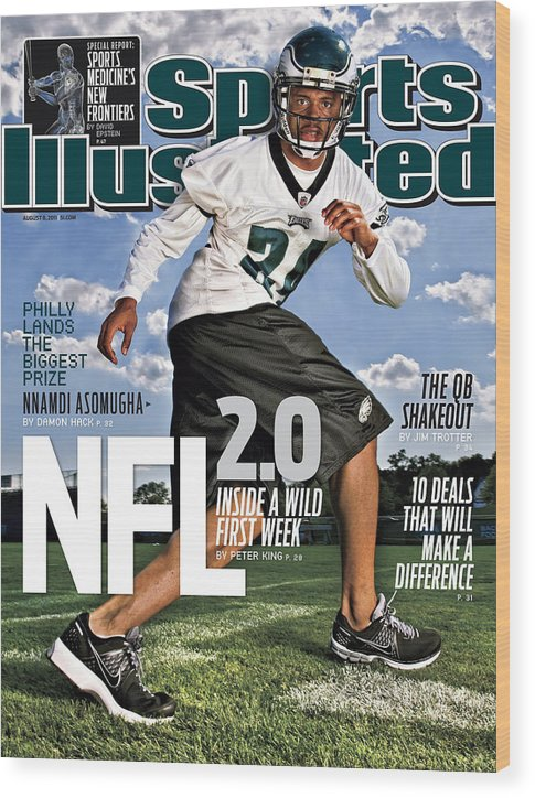 Magazine Cover Wood Print featuring the photograph Nfl 2.0 Inside A Wild First Week Sports Illustrated Cover by Sports Illustrated