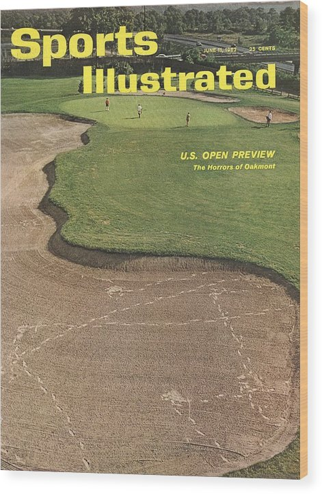 Scenics Wood Print featuring the photograph Oakmont Country Club Sports Illustrated Cover by Sports Illustrated