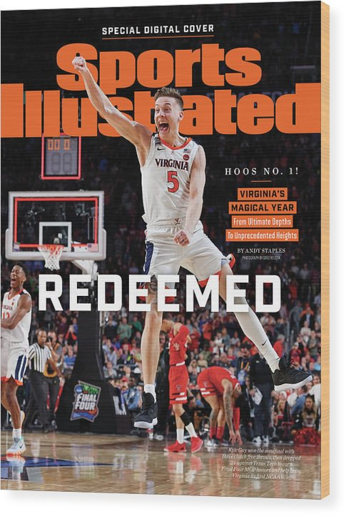 Championship Wood Print featuring the photograph Redeemed University Of Virginia, 2019 Ncaa Champions Sports Illustrated Cover by Sports Illustrated