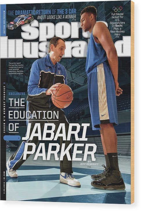 Magazine Cover Wood Print featuring the photograph The Education Of Jabari Parker Sports Illustrated Cover by Sports Illustrated