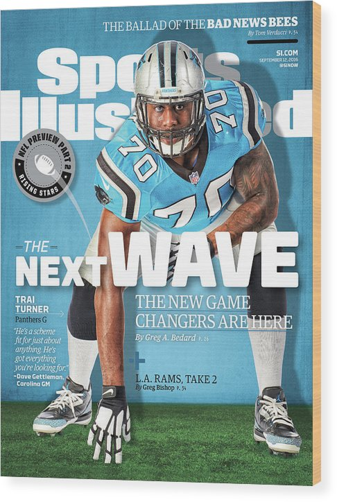 Magazine Cover Wood Print featuring the photograph The Next Wave The New Game Changers Are Here Sports Illustrated Cover by Sports Illustrated