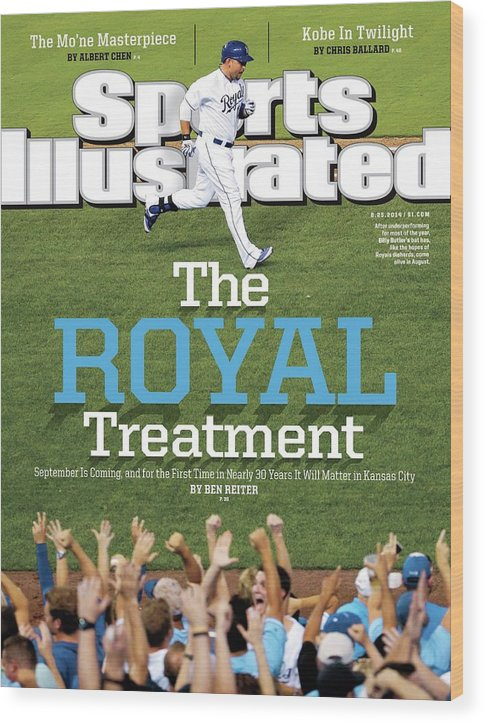 Magazine Cover Wood Print featuring the photograph The Royal Treatment Sports Illustrated Cover by Sports Illustrated
