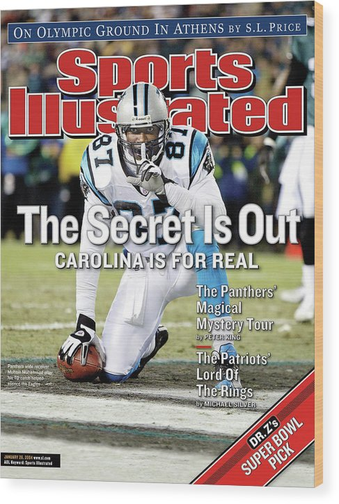 Magazine Cover Wood Print featuring the photograph The Secret Is Out Carolina Is For Real Sports Illustrated Cover by Sports Illustrated