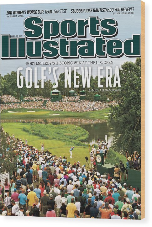 Bethesda Wood Print featuring the photograph U.s. Open - Final Round Sports Illustrated Cover by Sports Illustrated