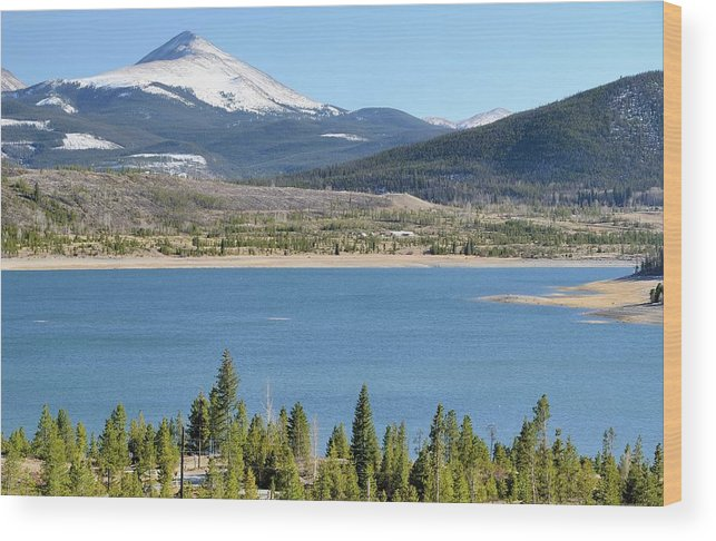 Scenics Wood Print featuring the photograph Colorado Landscape by Rivernorthphotography