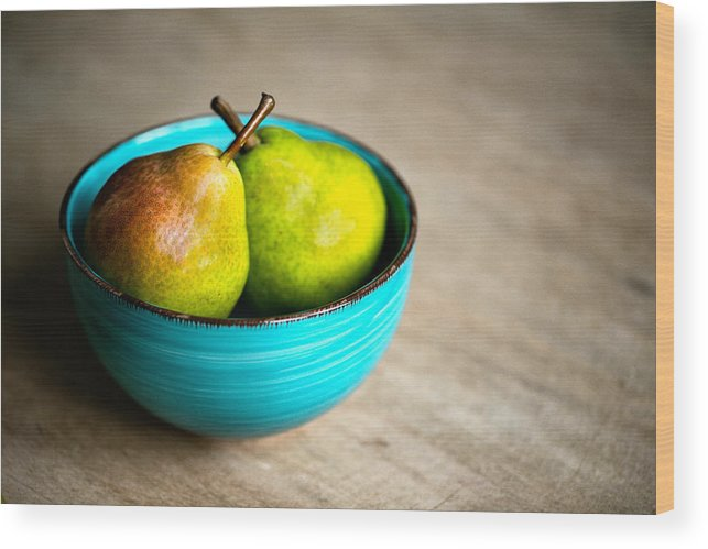 Pear Wood Print featuring the photograph Pears by Nailia Schwarz