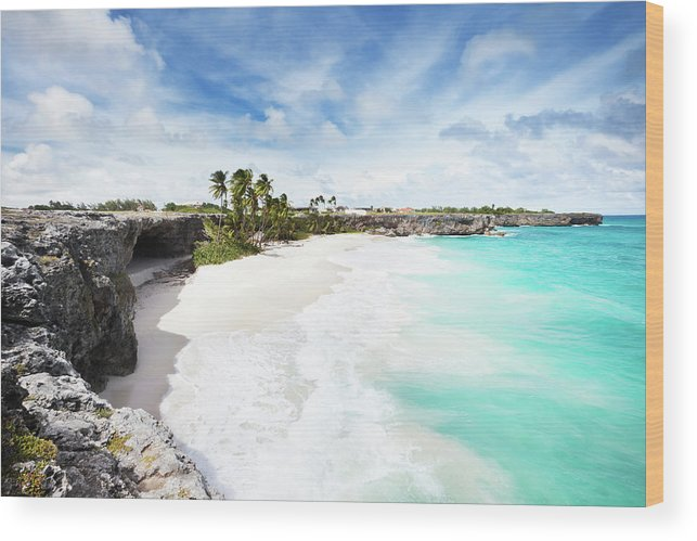 Scenics Wood Print featuring the photograph Bottom Bay, Barbados by Tomml