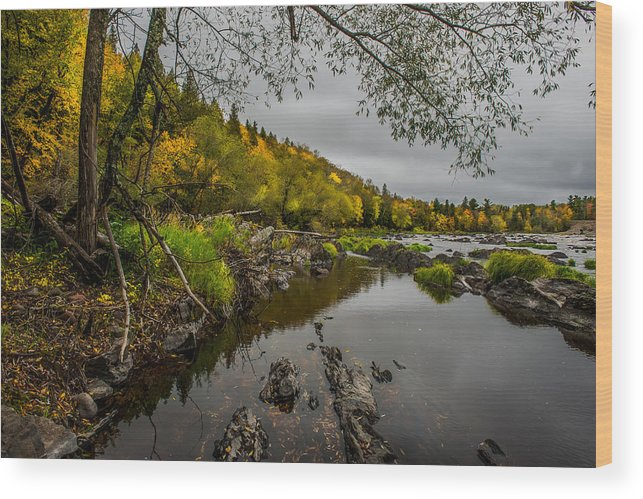 Jay Cooke State Park Wood Print featuring the photograph Jay Cooke State Park by Paul Freidlund