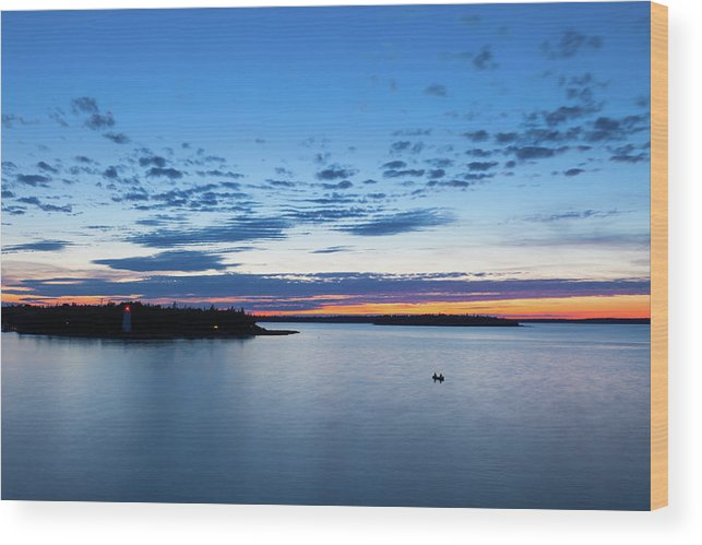 Scenics Wood Print featuring the photograph Tobermory, Ontario, Canada by Benedek