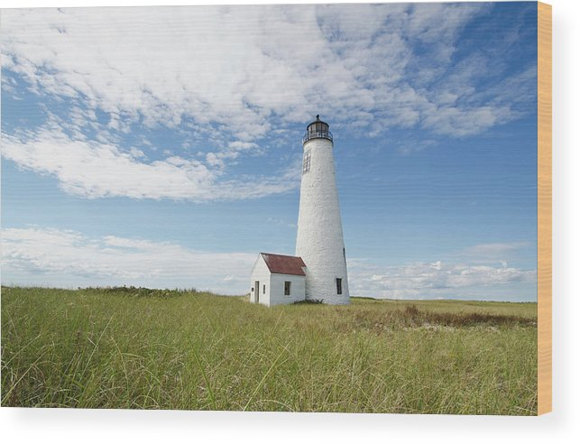 Tranquility Wood Print featuring the photograph Usa, Massachusetts, Nantucket Island by Tetra Images - Chris Hackett