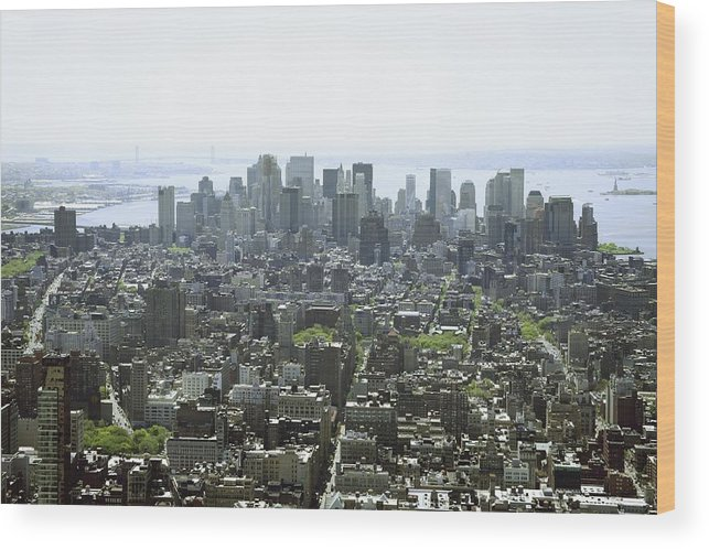 Horizontal Wood Print featuring the photograph New York City, New York, United States Of America by Colleen Cahill / Design Pics