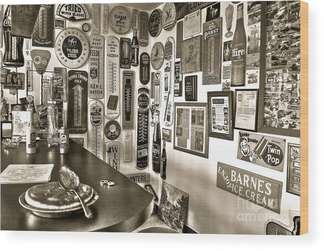 Pie Wood Print featuring the photograph American Pie by Brenda Giasson