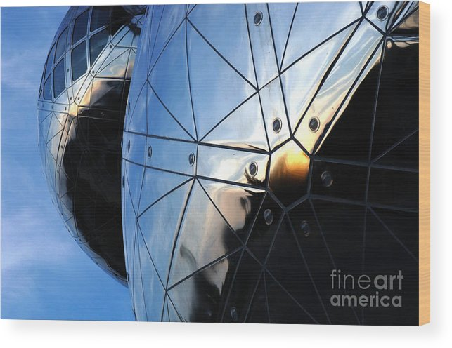 Art Wood Print featuring the photograph Art In Architecture 5 by Bob Christopher