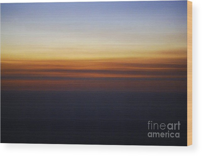 Sun Wood Print featuring the photograph Nature's Brush Strokes by Gib Martinez
