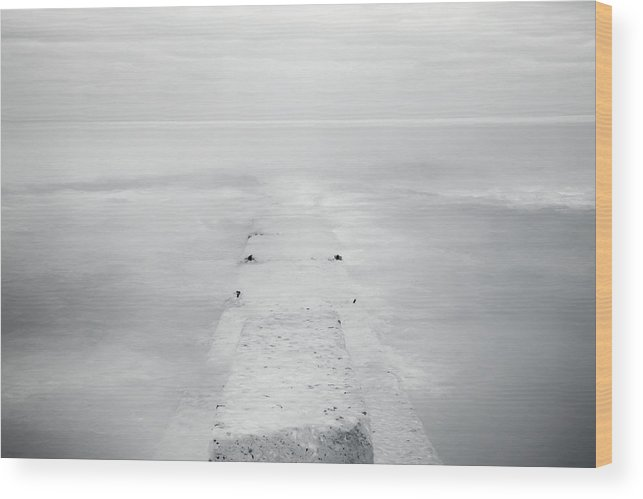 Horizon Wood Print featuring the photograph Destitute Of Hope by Scott Norris