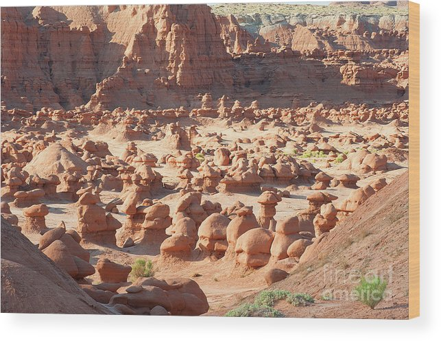Hoodoos Wood Print featuring the photograph Early Morning Hoodoos by Dennis Hammer