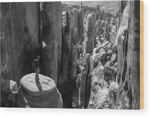 Active Wood Print featuring the photograph Fiery Furnace by Whit Richardson