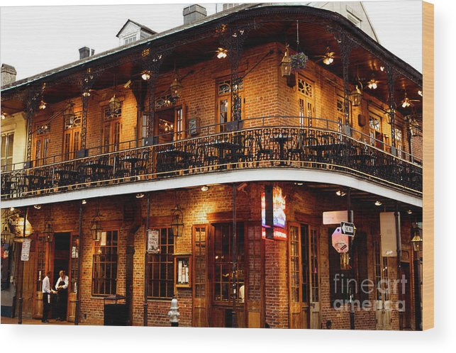 New Orleans Wood Print featuring the photograph New Orleans and all that Jazz by Kim Fearheiley