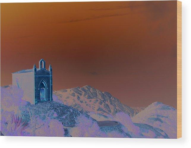 Montserrat Wood Print featuring the photograph On Top of Montserrat by Jason Hochman
