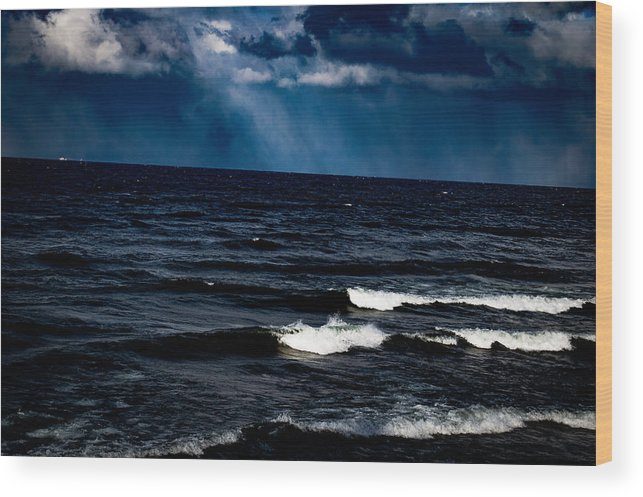 Pure Michigan Wood Print featuring the photograph Micigami by Esther Kather