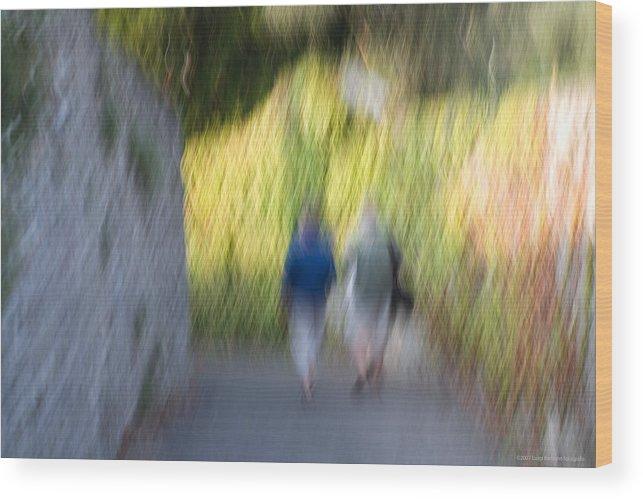Italy Wood Print featuring the photograph Romantic walking by Luigi Barbano BARBANO LLC
