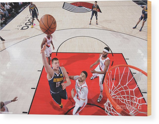 Playoffs Wood Print featuring the photograph Western Conference Semifinals - Denver by Sam Forencich
