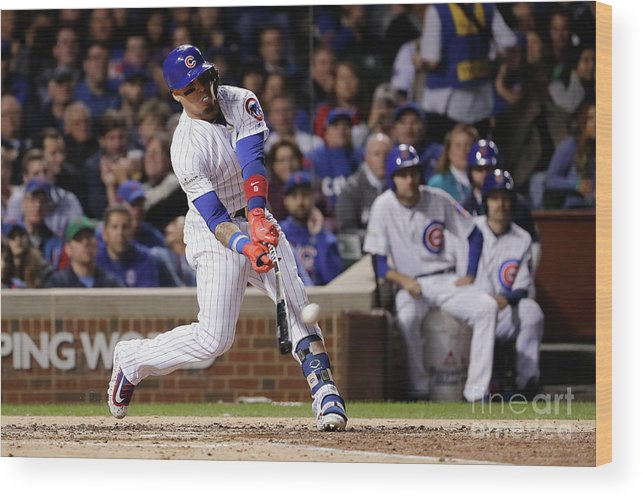 Championship Wood Print featuring the photograph League Championship Series - Los by Jamie Squire