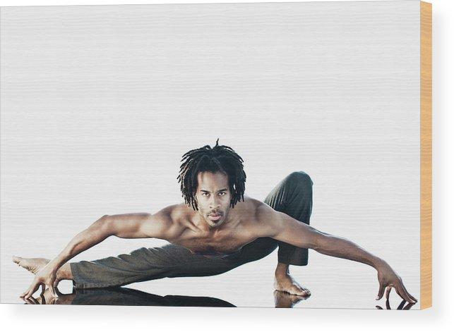 Torso Wood Print featuring the photograph Dance Studio by Patrik Giardino