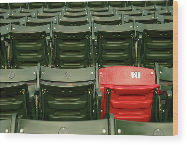 Playoffs Wood Print featuring the photograph World Series - St Louis Cardinals V by Elsa