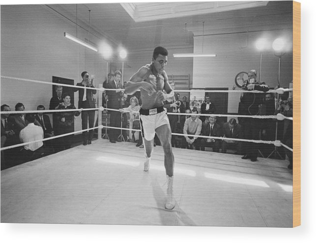 People Wood Print featuring the photograph Ali In Training by R. Mcphedran