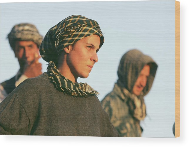 People Wood Print featuring the photograph Ancient Treasures Of Afghanistan by John Moore