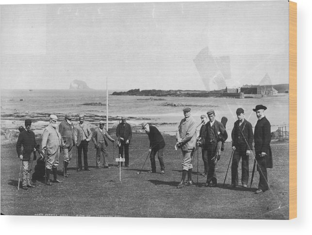 Scotland Wood Print featuring the photograph Berwick Links by James Valentine