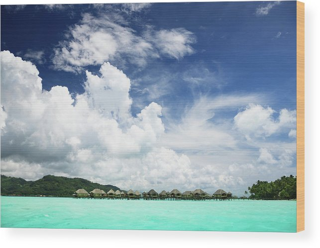Standing Water Wood Print featuring the photograph Blue Lagoon Holiday Luxury Resort by Mlenny