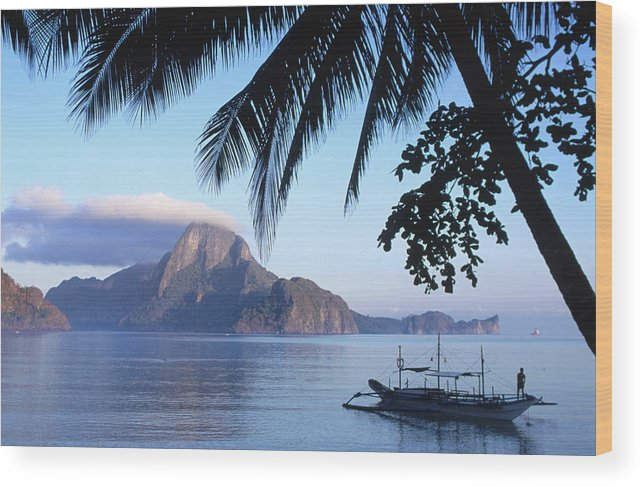 People Wood Print featuring the photograph Cadlao Island From El Nido, Sunrise by Dallas Stribley