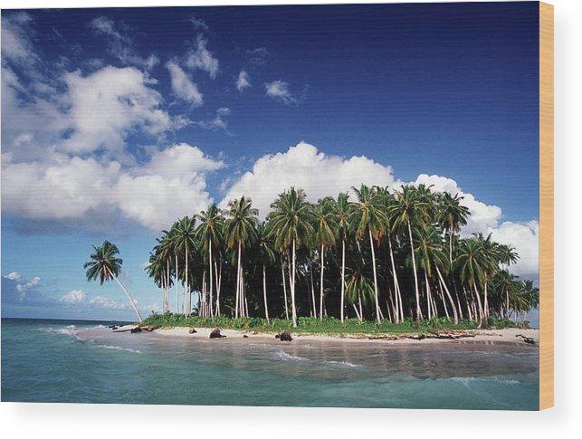 Scenics Wood Print featuring the photograph Indonesia, West Sumatra Province by John Seaton Callahan