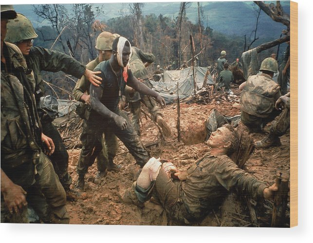 Timeincown Wood Print featuring the photograph Jeremiah Purdie by Larry Burrows